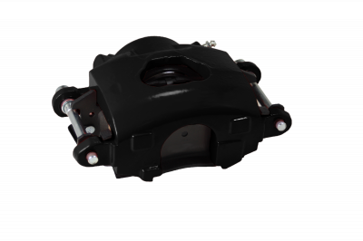 GM Single Piston Caliper Black Powder Coated RH LEED Brakes