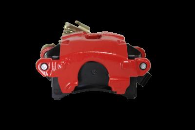 LEED Brakes Red Powder Coated Rear Caliper LH
