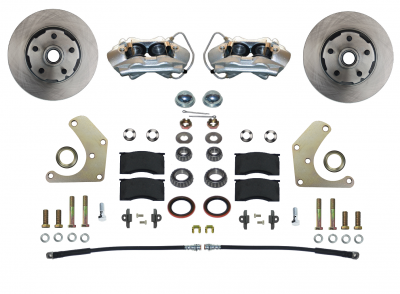 Mopar A Body Front Disc Brake kit - LEED Brakes