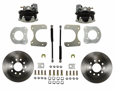 Mopar 8-1/4 9-1/4 Rear Disc Brake Kit - LEED Brakes