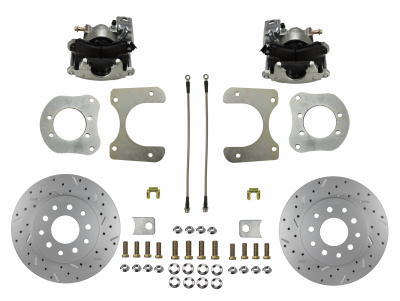 Mopar Rear Disc Brake Kit 8-1/4 9-1/4 Axle - LEED Brakes