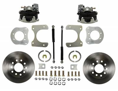 Jeep Dana 35 Dana 44 Rear Disc Brake Kit - LEED Brakes