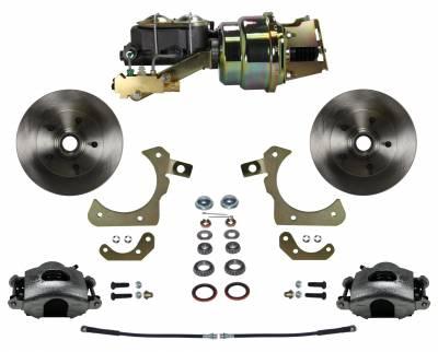 55-58 Chevy Power Disc Brake Kit