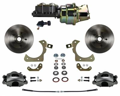 55-58 Chevrolet Power Disc Brake Conversion Kit