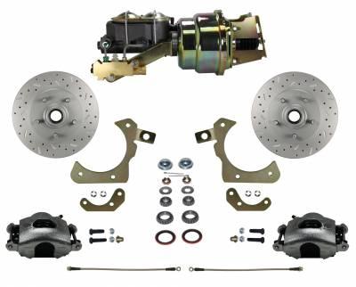 Bel Air Front Disc Brake Kit - Leed Brakes