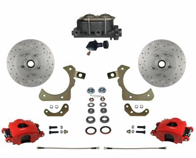 Bel Air Manual Disc Brake Kit - Leed Brakes
