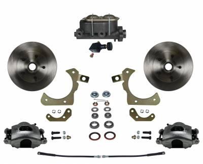 LEED Brakes - Manual Front Disc Brake Conversion Kit with Adjustable Proportioning Valve