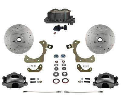 LEED Brakes - Manual Front Disc Brake Conversion Kit with Adjustable Proportioning Valve | MaxGrip XDS