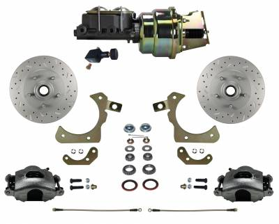 LEED Brakes - Power Front Disc Brake Conversion Kit with Adjustable Proportioning Valve | MaxGrip XDS
