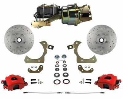 GM Full Size Front Disc Brake Kit