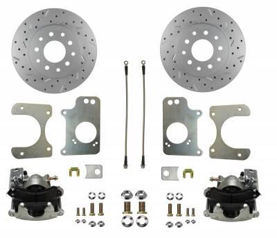 G Body Rear Disc Brake Kit with MaxGrip Rotors