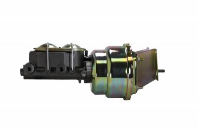 LEED Brakes 7 in Dual Diaphragm Booster and Master Combo for C10 Trucks