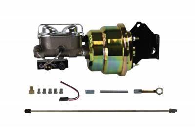 Ford / Mercury Power Brake Kit for Drum Brake Cars - LEED Brakes