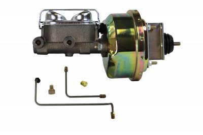 64-66 Mustang Power Drum Brakes - LEED Brakes