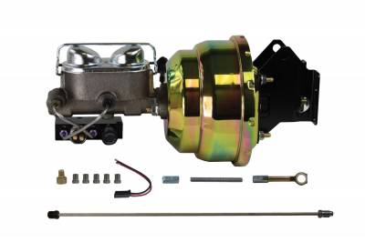 Ford Galaxie Power Drum Brake Kit - LEED Brakes