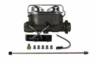 Ford Full Size Drum Dual Bowl Master Cylinder Kit - LEED Brakes