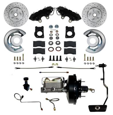 Ford Black Powder Coated Power Brakes