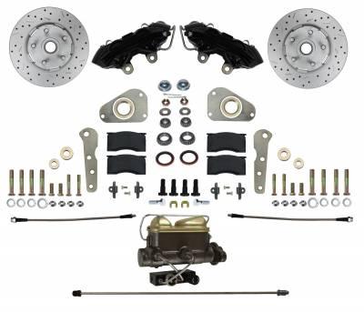 Manual Front Brake Kit Black Powder Coat