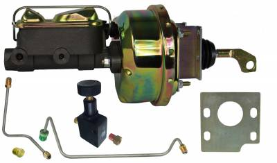 1964-66 Mustang Power Brake booster for manual transmission cars - LEED Brakes