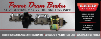 Ford Drum Power Boosters Mustang Full Size