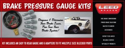 Brake Pressure Gauge Kit