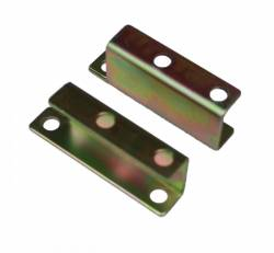 Master Cylinders & Power Boosters - Power Booster Brackets - LEED Brakes - Booster Bracket Set Chevy 55-58, Mustang 64-66 (zinc)