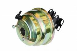 Power Brake Booster Kits - Power Booster Only - LEED Brakes - Ford F100 8 inch Dual power booster with bracket (Zinc)