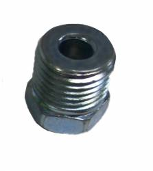 Universal Fit Products - Universal Brake Fittings - LEED Brakes - inverted flare fitting 9/16-18 for 3/16 inch line