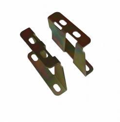 Master Cylinders & Power Boosters - Power Booster Brackets - LEED Brakes - Booster Bracket Set 1955-58 Belair (zinc)
