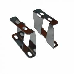 Master Cylinders & Power Boosters - Power Booster Brackets - LEED Brakes - Booster Bracket Set 1955-58 Belair (Chrome)