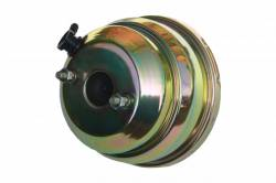 Universal Fit Products - Universal Power Brake Boosters - LEED Brakes - 8 inch Dual Booster (zinc)