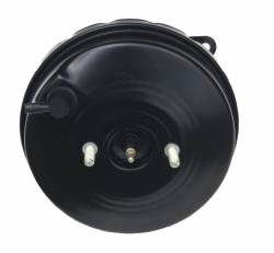 LEED Brakes - 9 inch power brake booster with bracket, 1 inch bore master cylinder , Bottom mount valve, 4 wheel disc with Automatic Trans Brake Pedal - Image 4