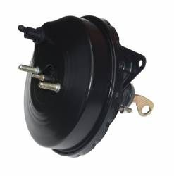 LEED Brakes - 9 inch power brake booster with bracket, 1 inch bore master cylinder , Bottom mount valve, 4 wheel disc with Automatic Trans Brake Pedal - Image 5