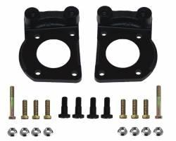 LEED Brakes - Caliper Mounting Bracket Set K/H with hardware Mustang 4 Piston