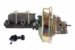 LEED Brakes - 9 inch power booster , 1-1/8 inch Bore master with Adjustable Proportioning Valve (zinc)