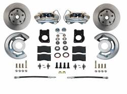 LEED Brakes - Front Disc Brake Conversion Kit Spindle Mount 65-69 Ford Mustang, Falcon, Fairlane, Cougar