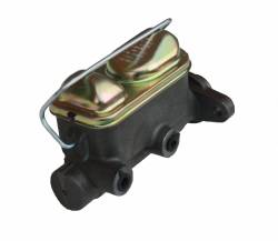 """1"""" Bore 64-73 Mustang Dual Bowl Master Cylinder front view"""