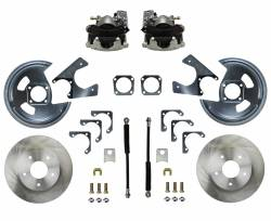 Universal Fit Products - Universal Rear Disc Brake Conversions - LEED Brakes - Universal Fit Rear Disc Brake Conversion Kit - GM 10 & 12 Bolt Axles 5 x4.75