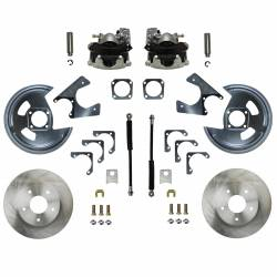 Rear Disc Brake Conversion Kits - Standard Rear Disc Brake Conversion Kits - LEED Brakes - Rear Disc Brake Conversion Kit - GM 10 & 12 Bolt Axles 5 x4.75 non Staggered Shocks