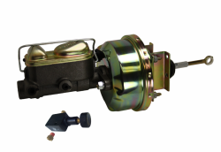 LEED Brakes - 7 inch Power Brake Booster , 1 inch Bore master , adjustable proportioning valve (zinc)
