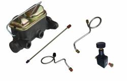 Master Cylinders & Power Boosters - Brake Master Cylinder Kits - LEED Brakes - Hydraulic Kit - Manual Brakes 67-69 Mustang