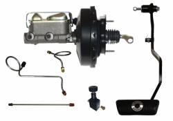 LEED Brakes - Hydraulic Kit - Power Brakes 67-70 Mustang Auto Trans