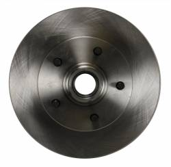 "LEED Brakes - Power Front Disc Brake Conversion Kit 2"" Drop Spindle with 8"" Dual Zinc Booster Cast Iron M/C Disc/Drum Side Mount - Image 7"
