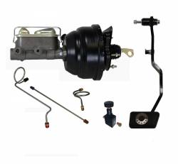 LEED Brakes - Hydraulic Kit - Power Brakes 67-69 Mustang Manual Trans