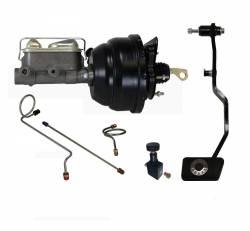 LEED Brakes - Hydraulic Kit - Power Brakes 67-69 Mustang Manual Trans
