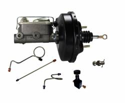 LEED Brakes - Hydraulic Kit - Power Brake Booster Kit with Adjustable Valve 71-73 Mustang