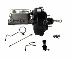 LEED Brakes - Hydraulic Kit - Power Brake Booster Kit with Adjustable Valve 71-73 Mustang