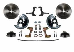 Front Disc Brake Conversion Kits - Spindle Mount Kits - LEED Brakes - Spindle Mount Kit