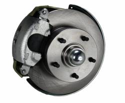 "LEED Brakes - Power Front Disc Brake Conversion Kit with 9"" Zinc Booster Cast Iron M/C 4 Wheel Disc Side Mount - Image 2"