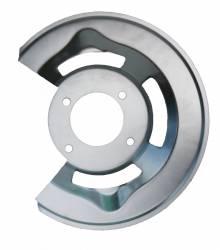 Mustang 4 Piston disc brake splash shield RH